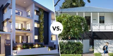 Property Investing: the charming Queenslander vs. the new apartment?
