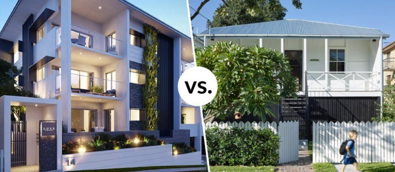 Apartment vs house and lot investment