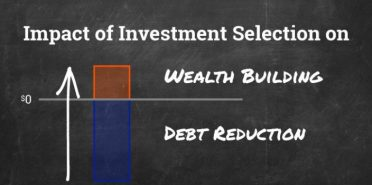 Investment Selection and the Impact on Debt Reduction and Building Wealth